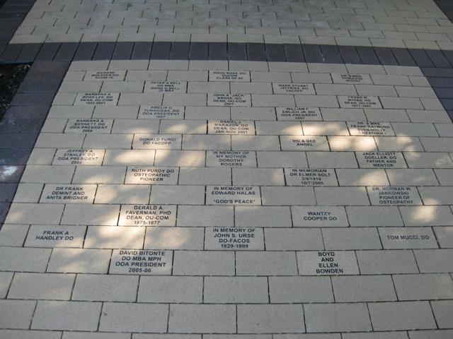 OOA Commemorative Walkway